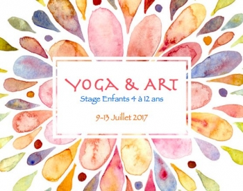 Stage Yoga & Art en juillet