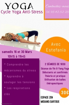 Cycle de yoga anti stress