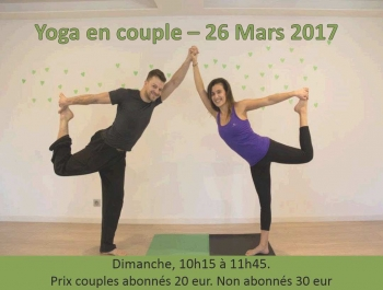 Yoga en couple